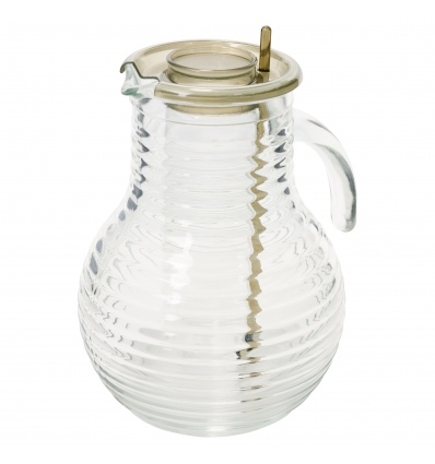 Bormioli Ringed 2 Litre Jugs With Stirrer & Cooling Stick