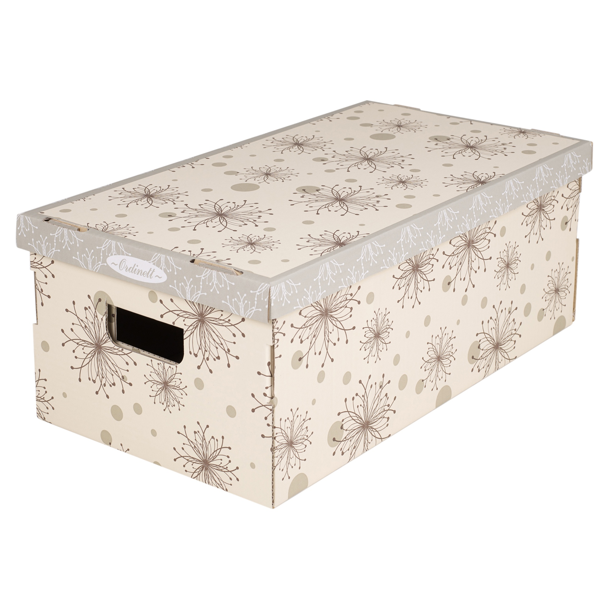 3 underbed storage boxes with handles lids clothes collapsible lightweight ebay. Black Bedroom Furniture Sets. Home Design Ideas