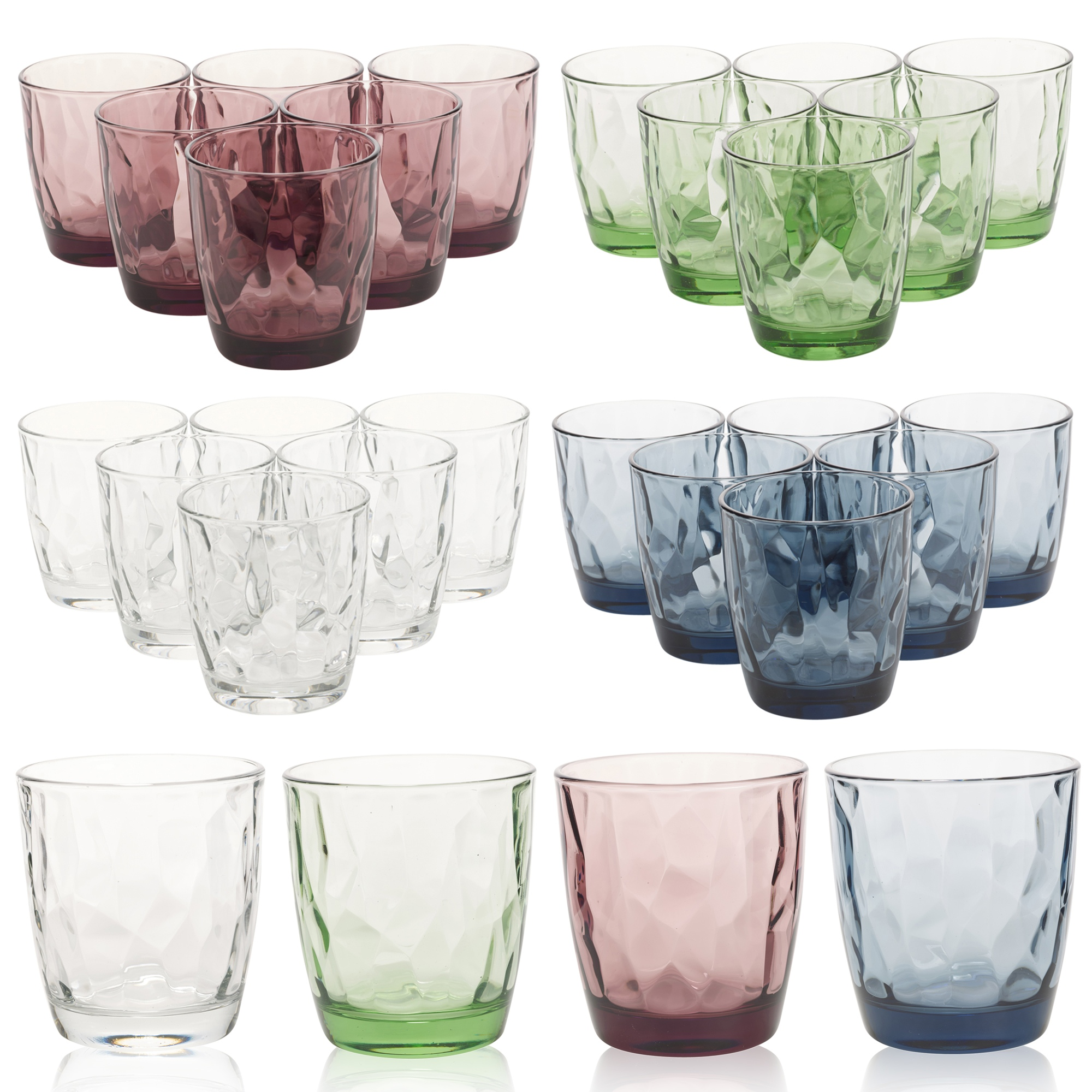 Coloured Glass Tumblers Australia