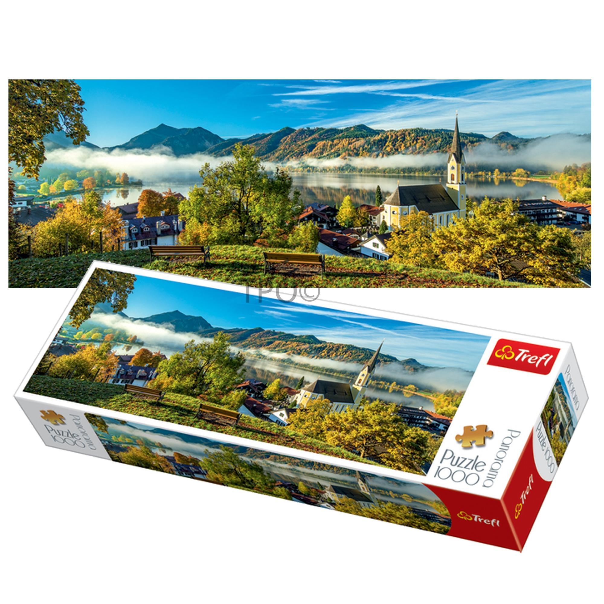 Trefl 1000 Piece Panorama Adult Schliersee Lake Germany