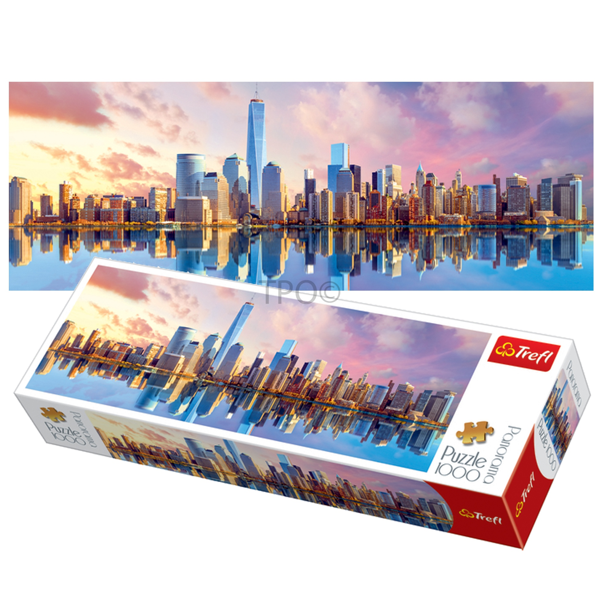 Trefl 1000 Piece Panorama Adult Manhattan New York Large
