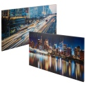 Set of 2 Night City Mix Canvases [133562/pc003356]
