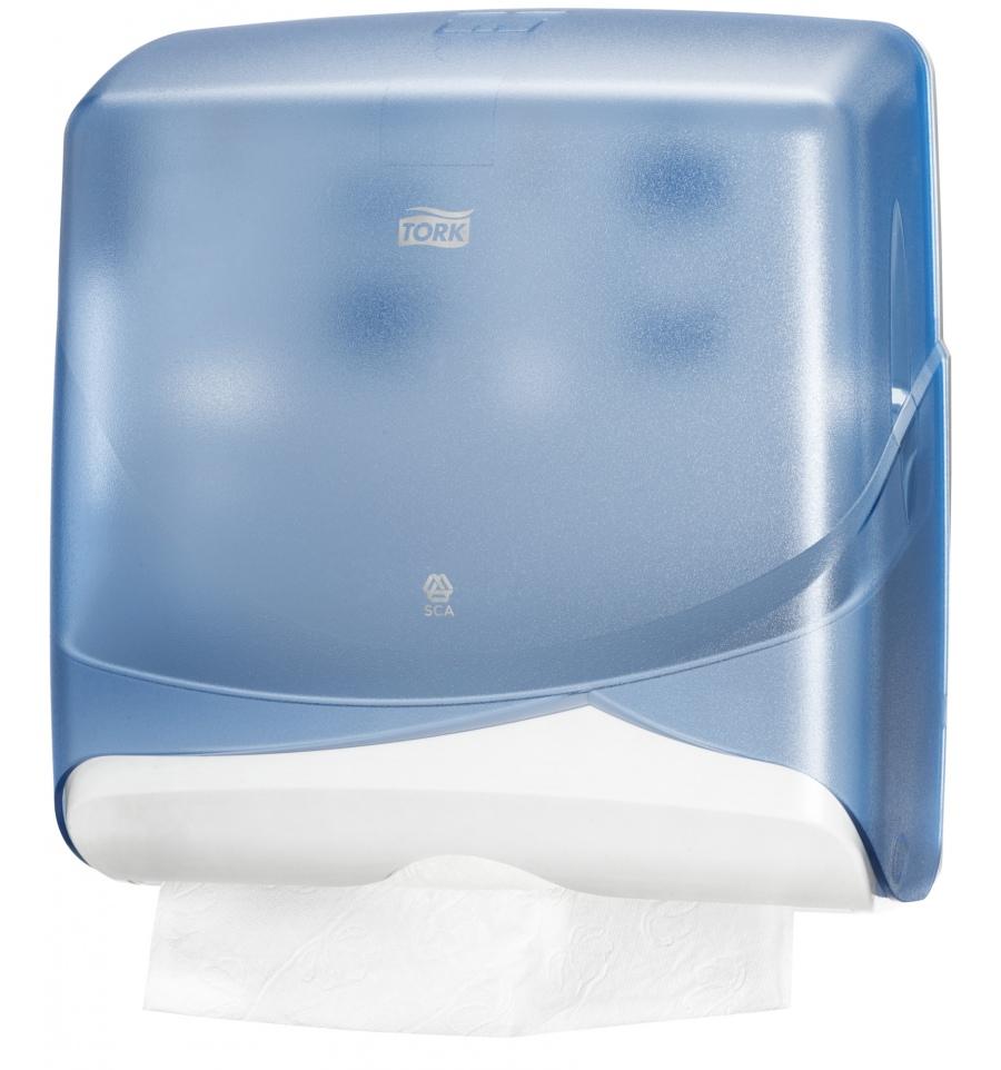 Tork Mini Multifold C Fold Hand Towel Dispenser Blue