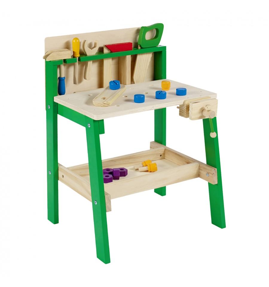 Kids Work Bench Childs Wooden