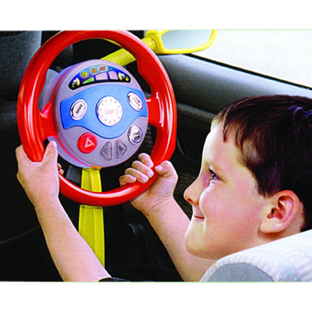 Toy Driving Wheel Car Seat