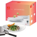 Prometeo Opal Glass 18pc Tableware Set [763190]