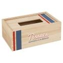 Tissue Box Paulownia Wood [021677]