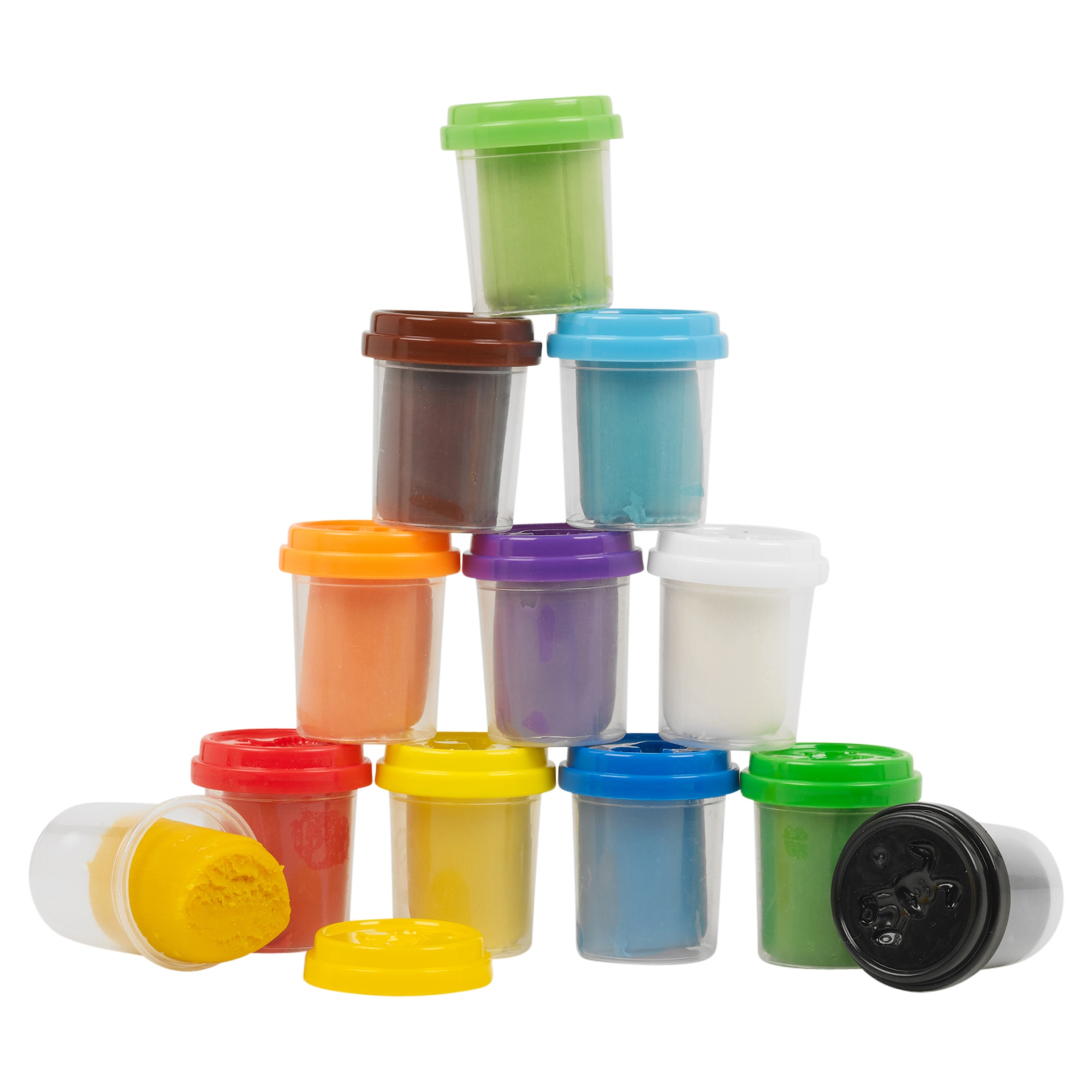 42 Piece Play Dough Craft Utensil Shapers /& Tubs Gift Set Childrens Toys Hobby