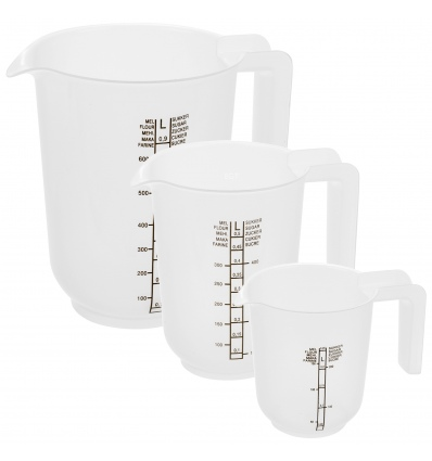 3 Pc Measuring Cup Set [325187]