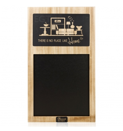 There Is No Place Like Home MDF Blackboard [896502]