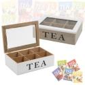 Tea Box 6 Sections [900117]