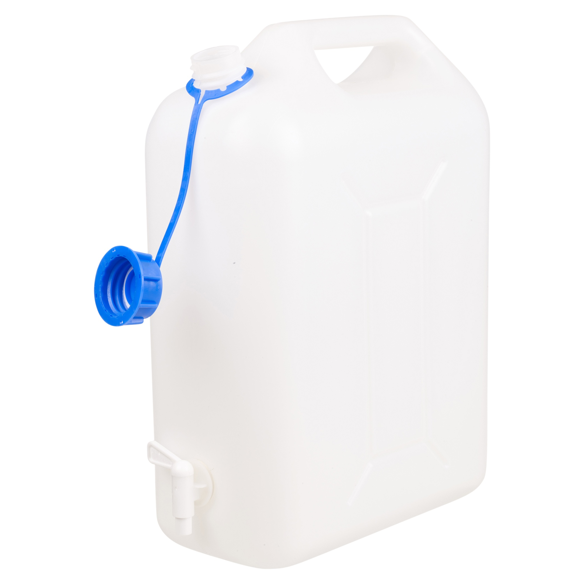 BIG WATER STORAGE CONTAINER 10L LTR LITRE CARRIER TAP SPOUT FOOD GRADE JERRY CAN