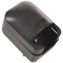 Large Black 13 Amp EU-UK Adaptor Plug