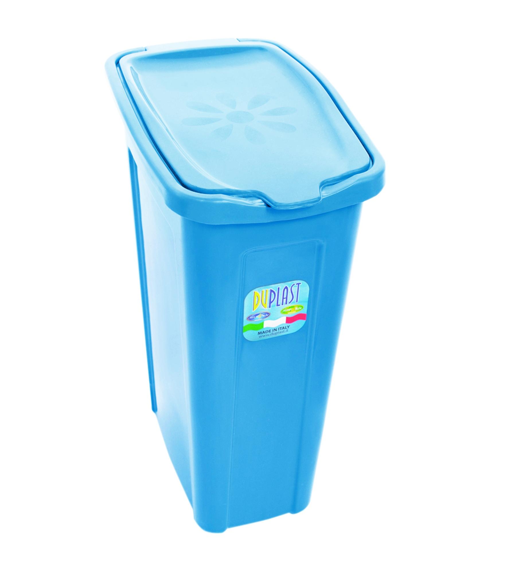 Slim under cabinet dustbin rubbish waste 35 litre laundry bin washing cupboard - Slimline waste bin ...