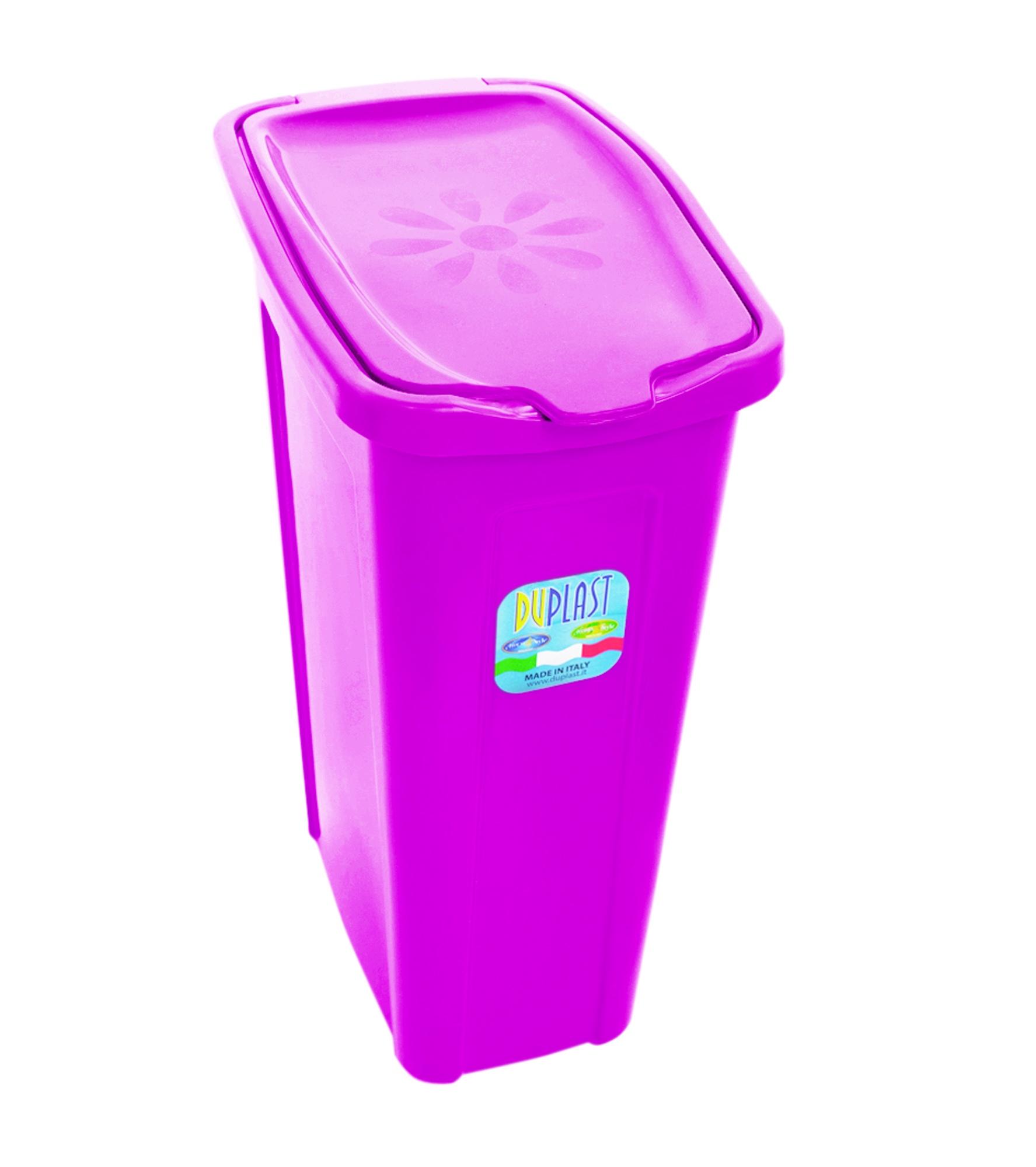35 Litre Slim Washing Basket Laundry Bin With Lid Hamper
