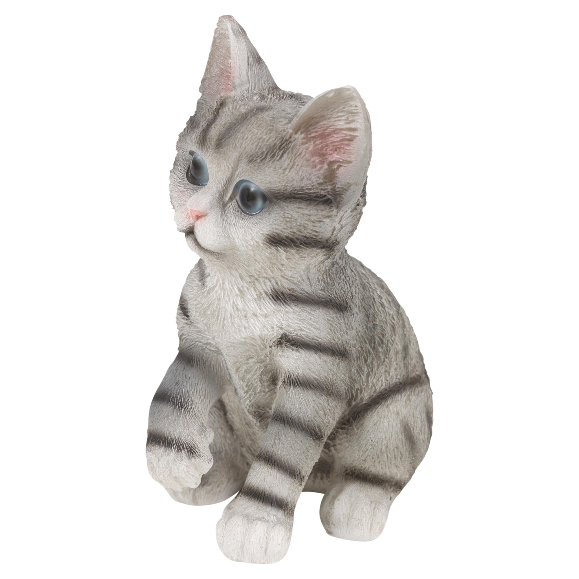 Garden Decor Cats: Resin Cat Garden Ornament Yard Outdoor Decor Pet Statue