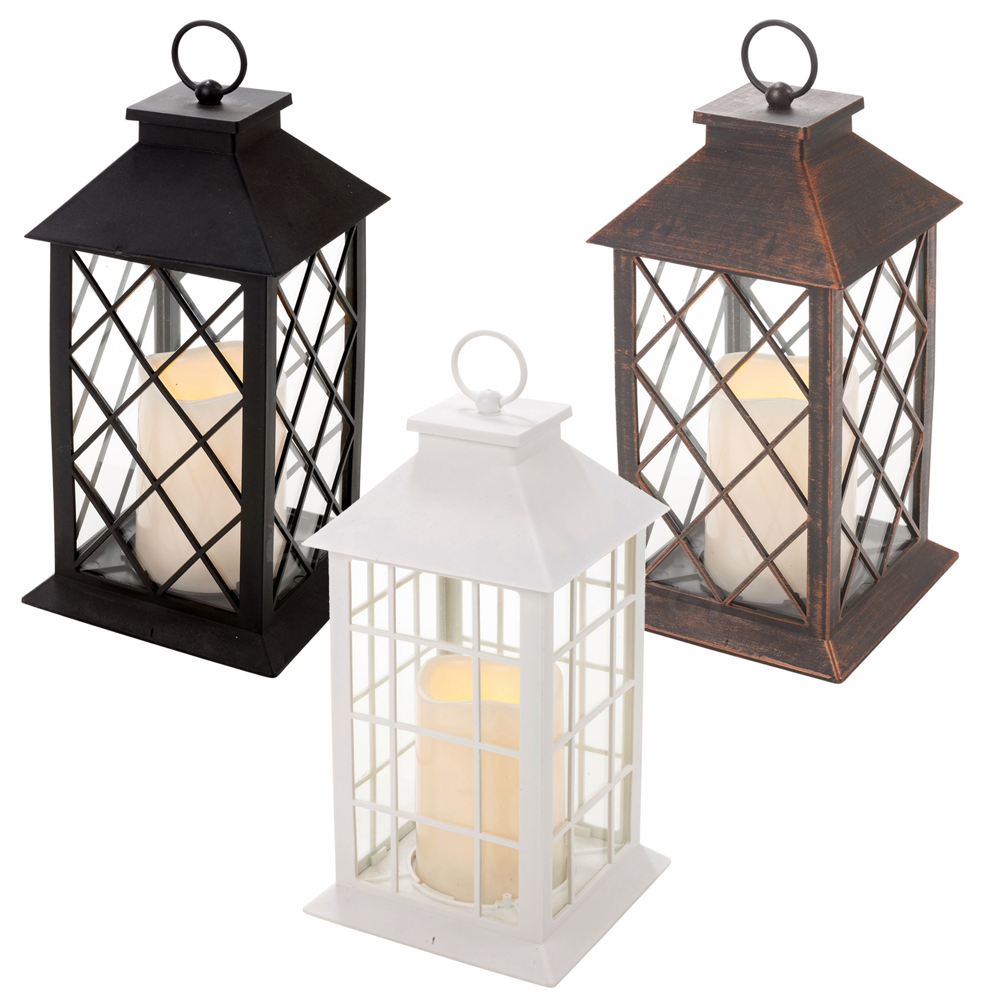 hanging candle lanterns traditional led candle lantern light holder indoor outdoor 28607