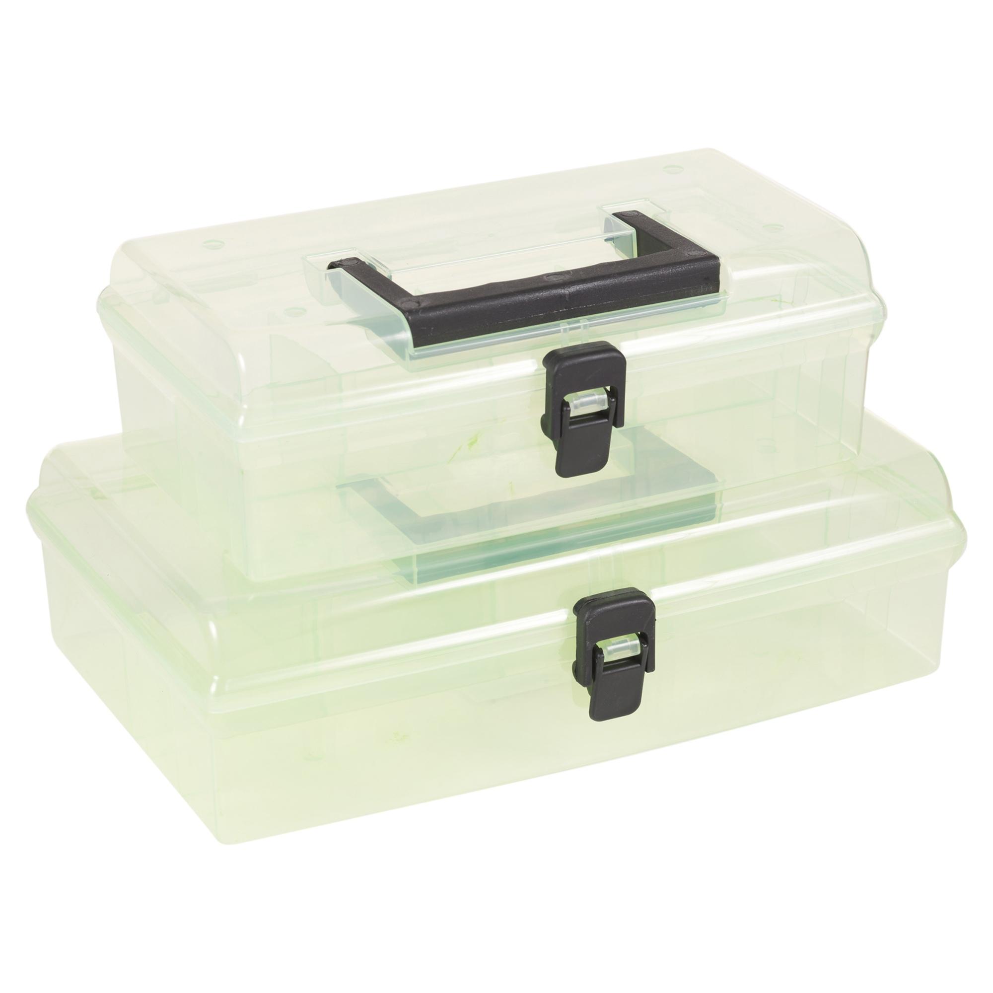 Almacenaje de pl stico caja recipiente manillar - Caja almacenaje plastico ...