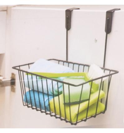 Over Cabinet Door Basket 28x15x21cm