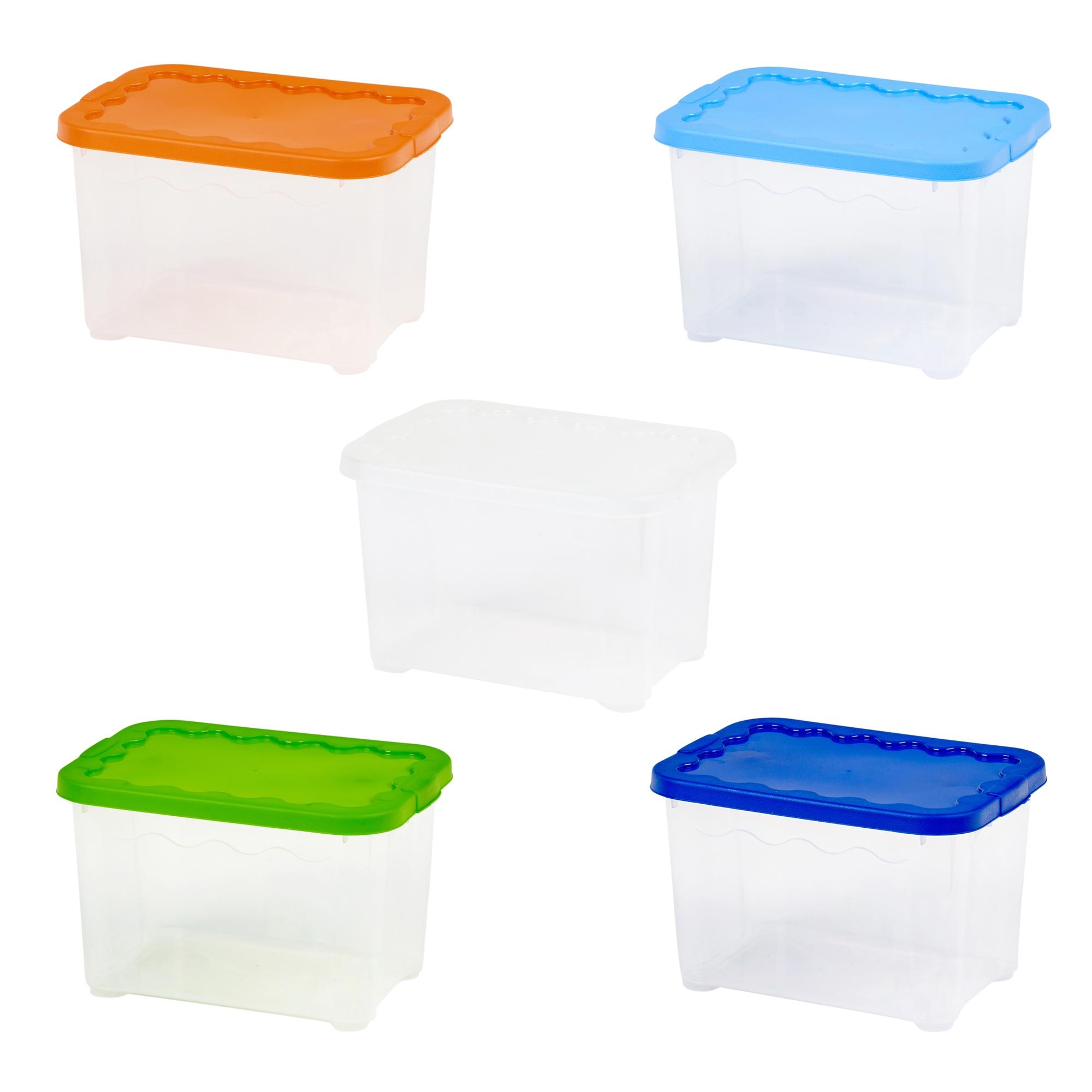 Cajas De Almacenaje De Plastico Great Caja De Ordenacin De  ~ Cajas Plastico Almacenaje Baratas