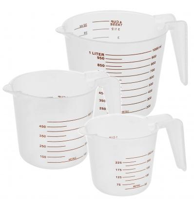 Cuisine Elegance 3Pcs Measuring Cups [991153]