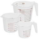 Cuisine Elegance 3Pcs Measuring Cups [991153]