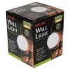 Goodlands Round White Globe Wall Light [176803]