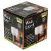Goodlands Clear Round Solar Wall Light [120202]