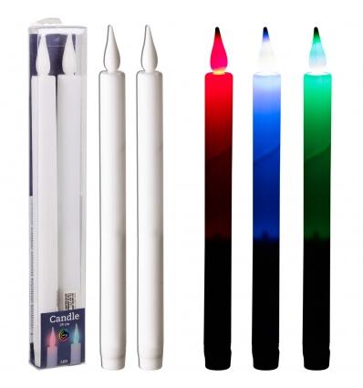 2 LED Dinner Candles 29cm [695155]