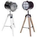 64cm Industrial Style Tripod Lamp