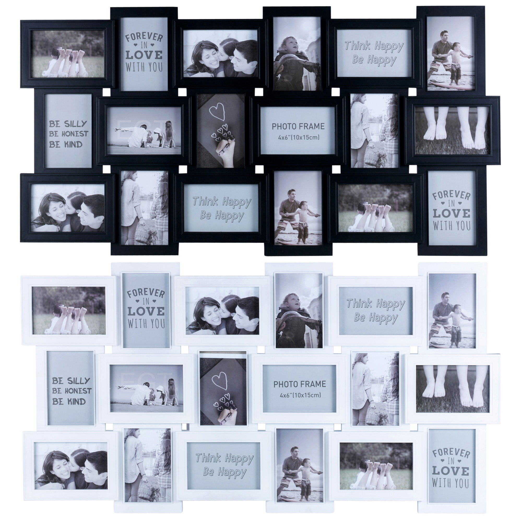 8/9/12/16/18/24 Photos Large Multi Picture Frame Collage Aperture ...