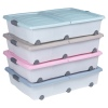 Underbed Storage Box Roller With Split Lid