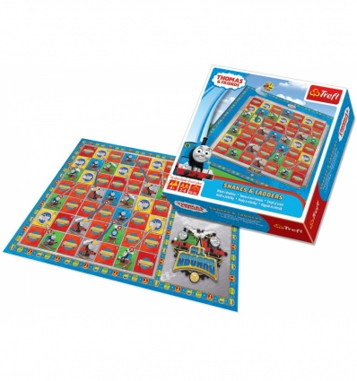 Snakes & Ladders Game - Thomas And Friends [01291]