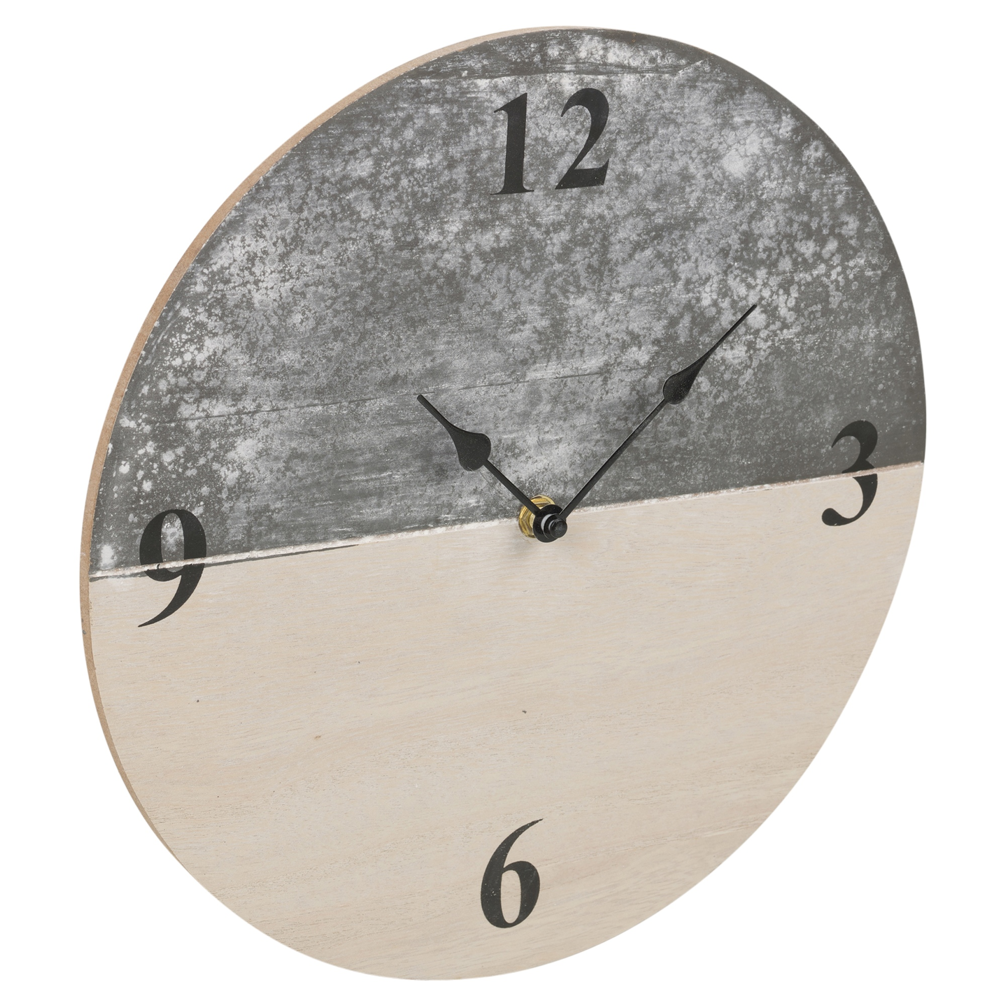 30cm Slate Farmhouse Shabby Chic Wood Wall Clock Time Home ...