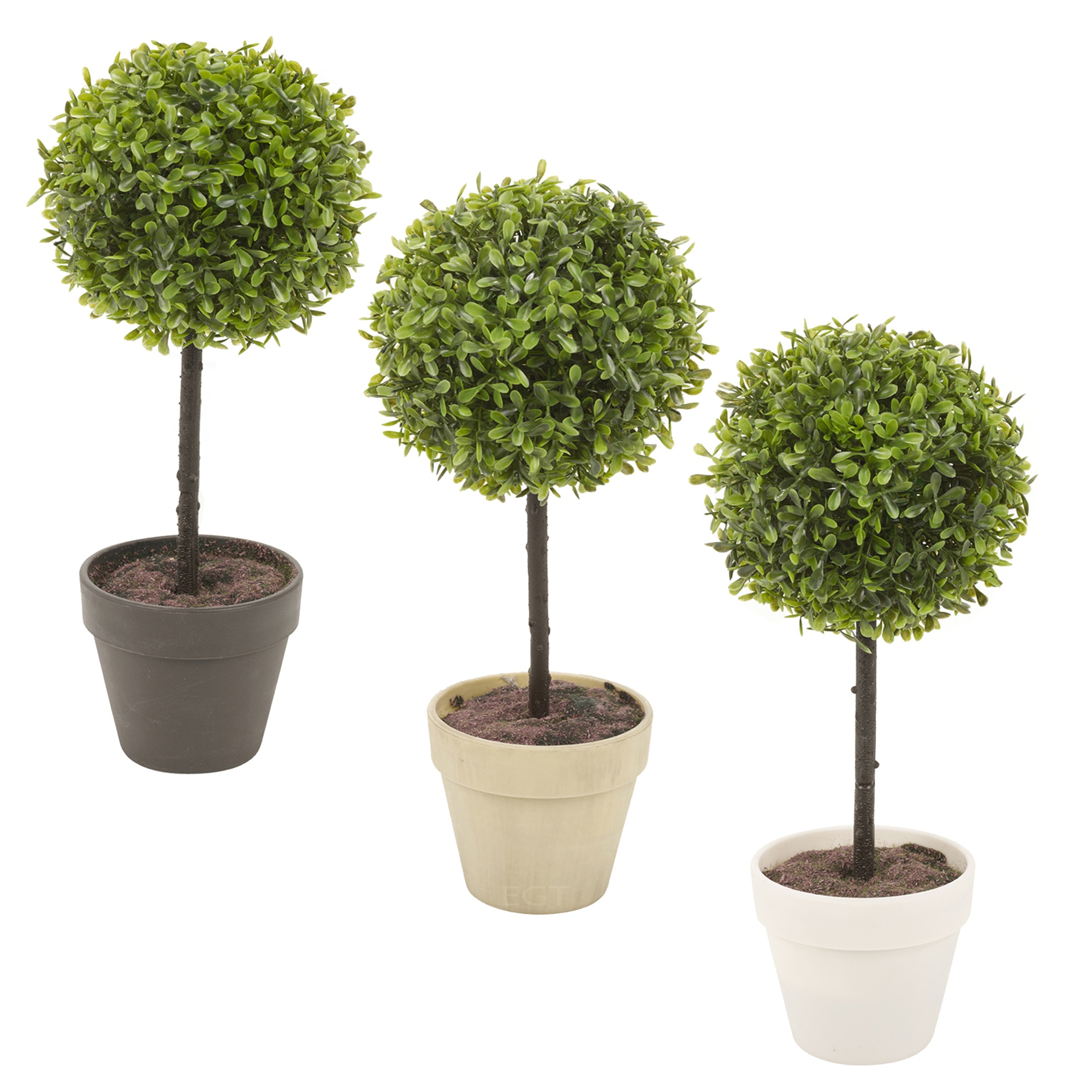 Potted buxus box ball plant decorative artificial indoor for Decorative plants for garden