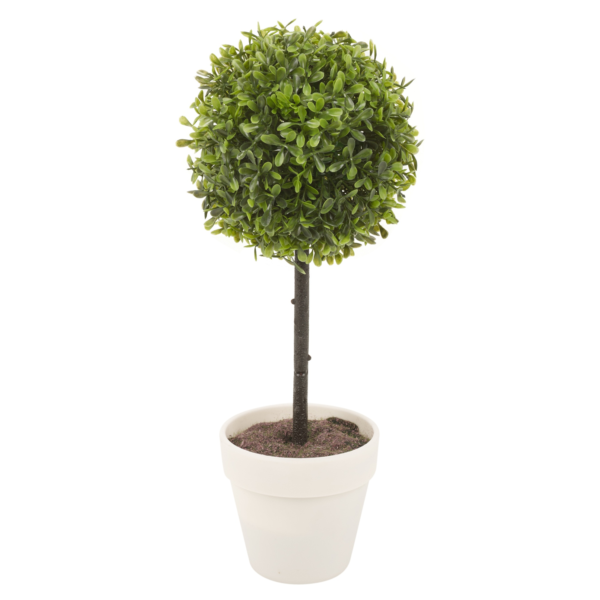 Potted buxus box ball plant decorative artificial indoor for Outdoor decorative plants