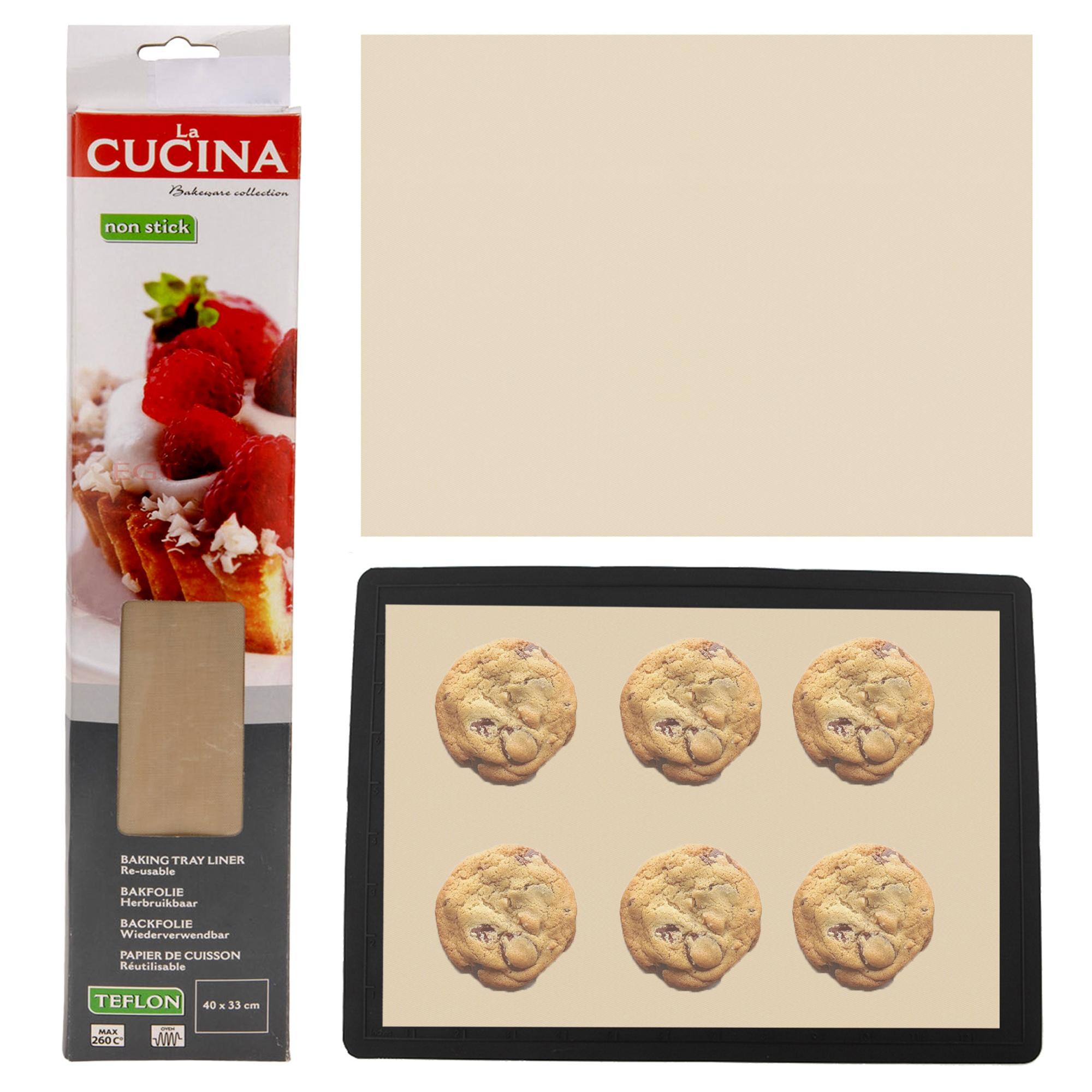 Reusable Non Stick Baking Tray Sheet Liner Mat Oven