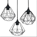 Black Wire Hanging Lamp [647208]