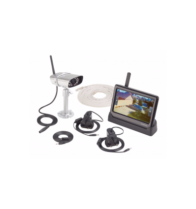 Response Wireless Smartphone CCTV Recordable Kit With Monitor [962638]