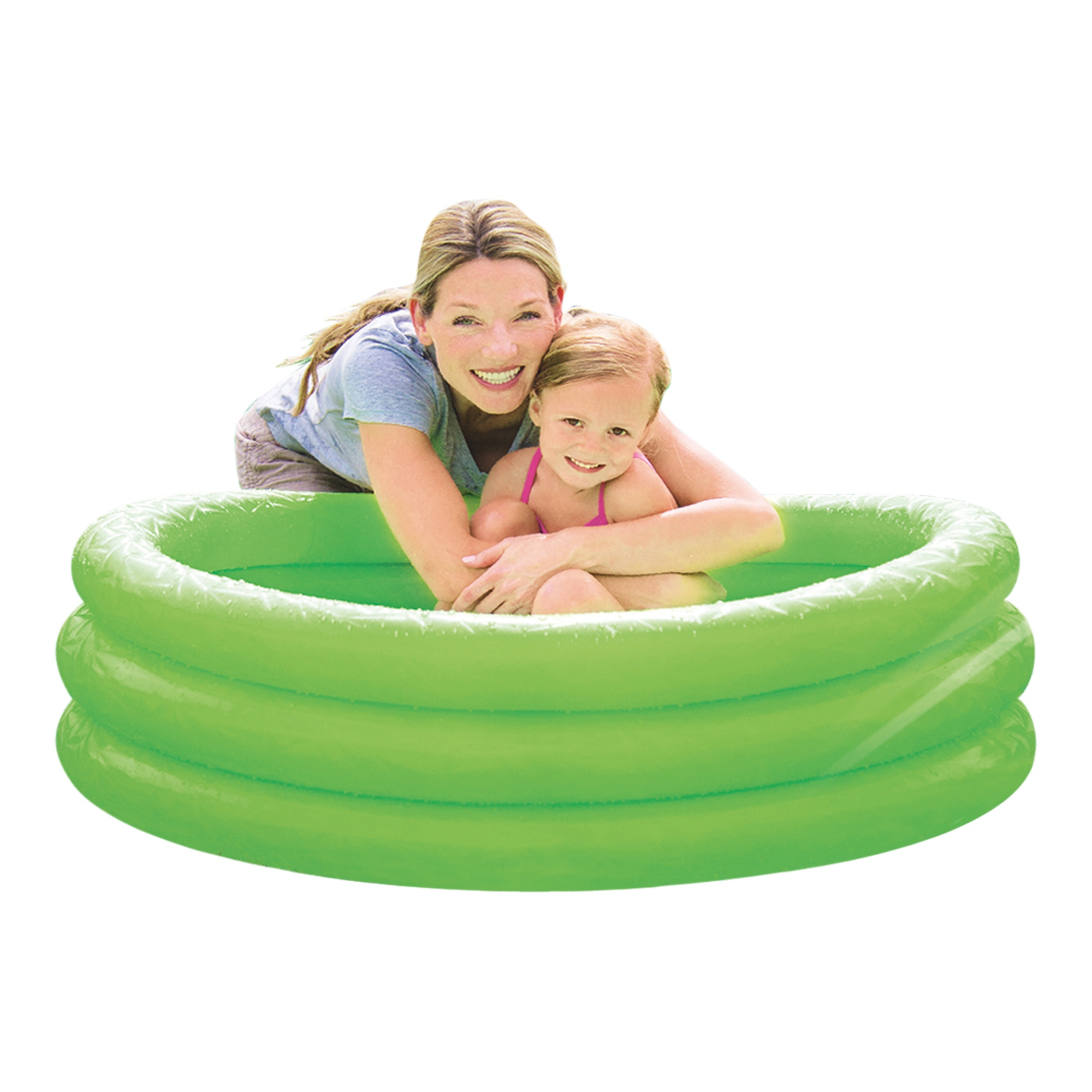 Bestway large inflatable water swimming paddling pool for Large garden swimming pools