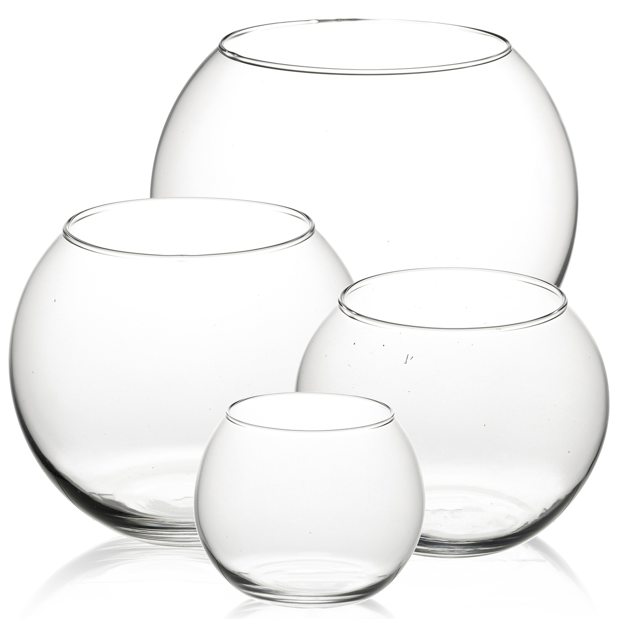 pasabahce round glass flower vase fish bowl balloon centerpiece wedding giftbox ebay. Black Bedroom Furniture Sets. Home Design Ideas