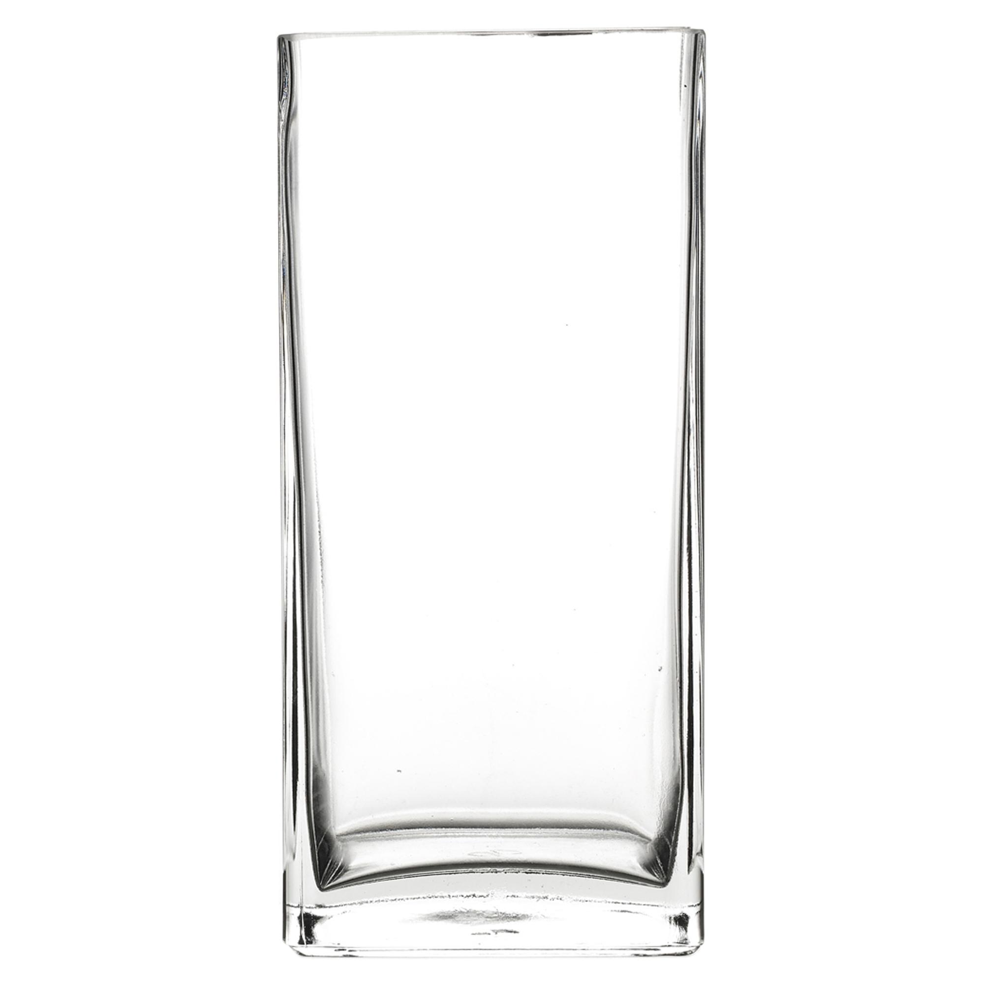 Pasabahce Square Rectangle Glass Flower Vase Gift Box Centerpiece Wedding New Ebay