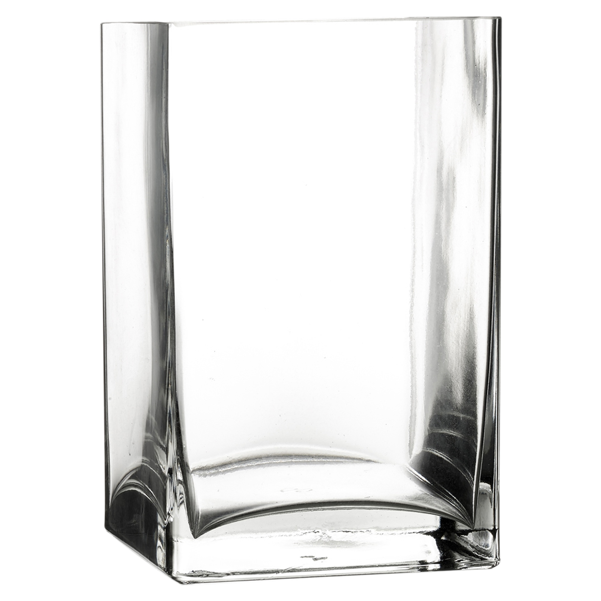 Pasabahce Square Rectangle Glass Flower Vase Gift Box Centerpiece Wedding New Ebay