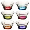 Coral Coloured Dessert Bowl 6pc Set [25967][080449]