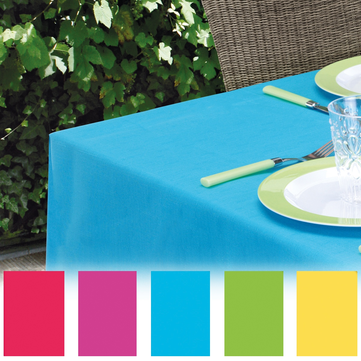 Charmant Details About Coloured Plastic Tablecloth Wipe Clean PVC Vinyl Wipeable  Party Outdoor Kids NEW