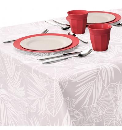PEVA Leaf Tablecloth 130x180cm [097610]