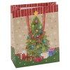 4 Assorted Christmas Tree Gift Bags [671271]