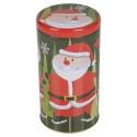 3pc Christmas Santa Tin [379235]