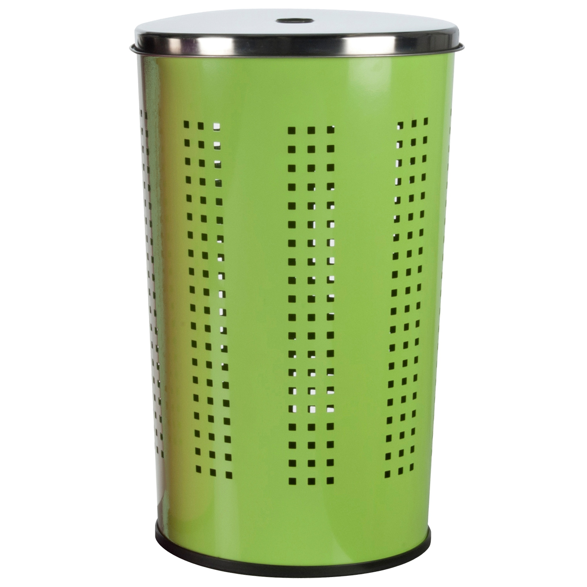 Heavy Duty 40l Metal Laundry Basket Bin Washing Clothes