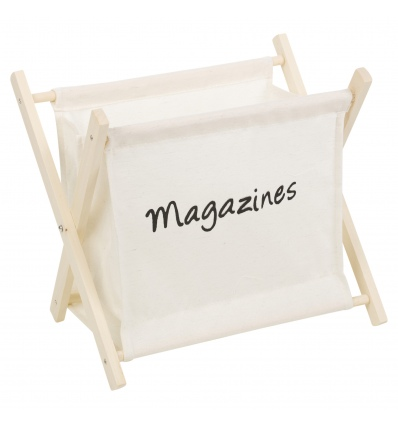 Wooden Magazine Rack [387025]